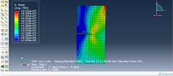 تحلیل ترک دوبعدی به روش XFEM